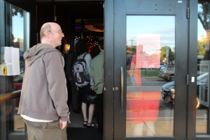 Trevor Adams heading in to MinnAnimate II